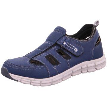 Hengst Footwear Komfort Slipper blau