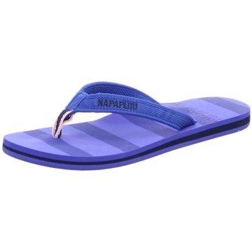 Napapijri Offene Schuhe blau