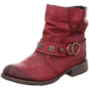 Rieker Biker Boot rot
