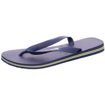 Havaianas Offene SchuheHav. Brasil Logo blau