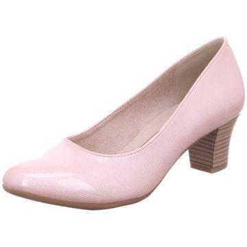 Jana Komfort Pumps rosa