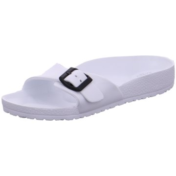 Hengst Footwear Pool Slides weiß