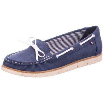 Jane Klain Bootsschuh blau