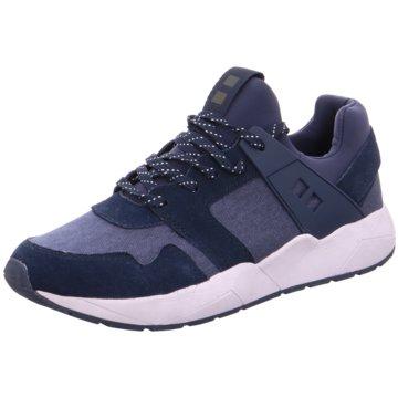 Run Lifewear Sneaker Low blau