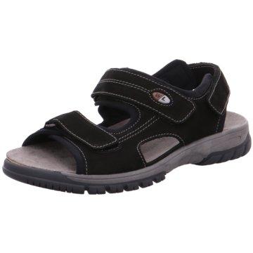 Waldläufer Komfort Schuh schwarz