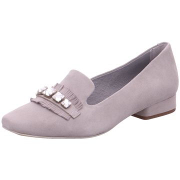 Be Natural Flacher Pumps lila