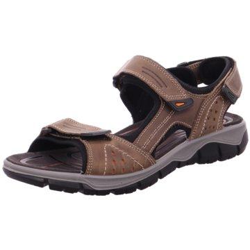 Imac Komfort Sandale braun