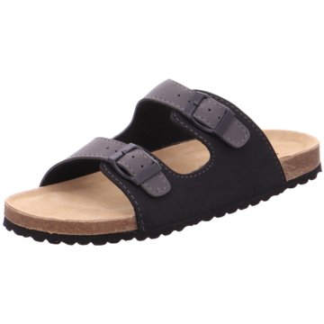 Softwaves Offene Schuhe schwarz