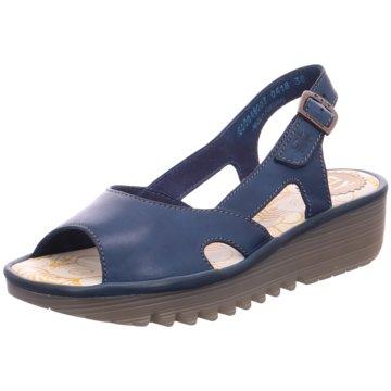 Mjus Sandalette blau