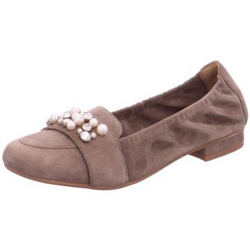 SPM Shoes & Boots Modische Ballerinas braun
