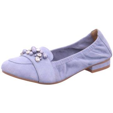 SPM Shoes & Boots Ballerina blau