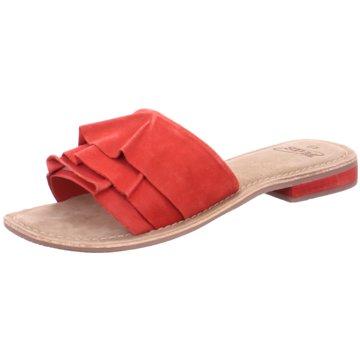 SPM Shoes & Boots Pantolette rot