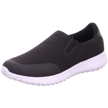 KangaROOS Sportlicher Slipper schwarz