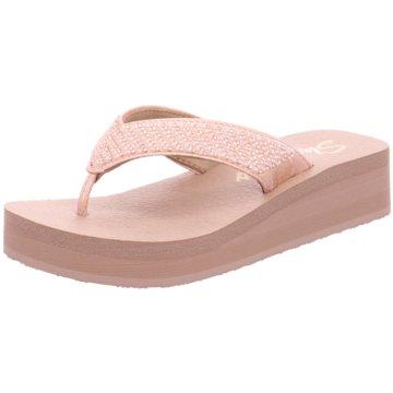 Skechers Zehentrenner rosa