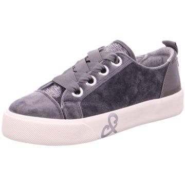 Soccx Plateau Sneaker grau