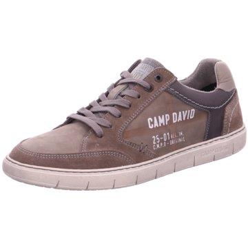 Camp David Sneaker Low braun