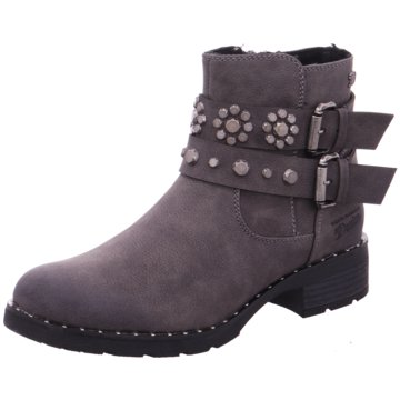 Tom Tailor Biker Boot grau