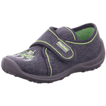 Fischer Schuhe Hausschuh grau