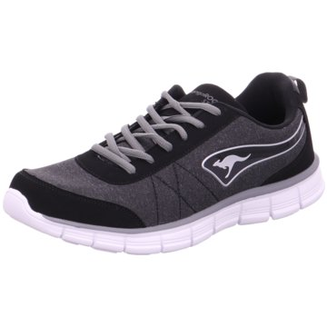 KangaROOS - 39029,jet black/steel grey -