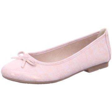 Jana Klassischer Ballerina silber