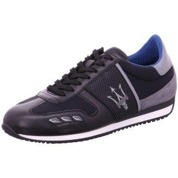 La Martina Sneaker schwarz