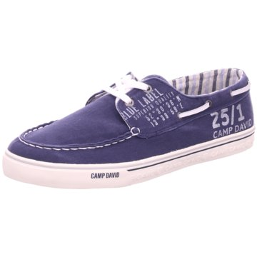 Camp David Bootsschuh blau