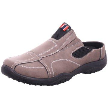 Hengst Footwear Komfort Slipper grau