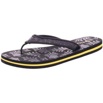 Hengst Footwear Bade-Zehentrenner schwarz