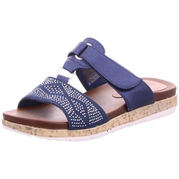 Hengst Footwear Komfort Pantolette blau