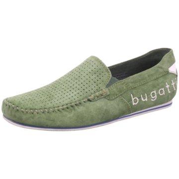 Bugatti Mokassin Slipper grün