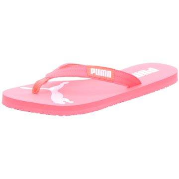 Puma Bade-Zehentrenner pink