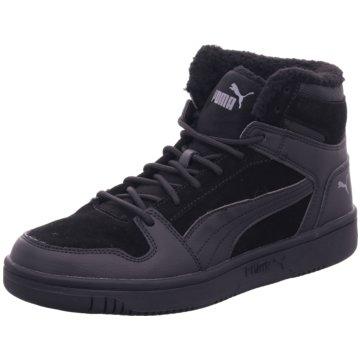 Puma Sneaker HighRebound LayUp SD Fur schwarz