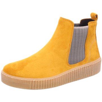 Gabor Chelsea BootChelsea-Bootie gelb