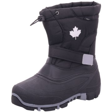 Canadians Winterstiefel schwarz