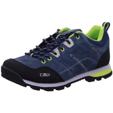 CMP F.lli Campagnolo Outdoor SchuhALCOR LOW TREKKING SHOE WP - 39Q4897 blau