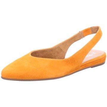 Tamaris Sling Ballerina orange