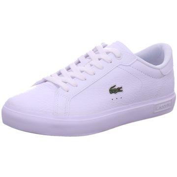 Lacoste Sneaker LowPowercourt weiß