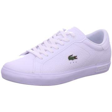 Lacoste Sneaker LowPowercourt 0721 weiß