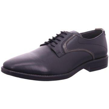 Hengst Footwear Eleganter Schnürschuh schwarz