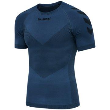 Hummel UntershirtsFIRST SEAMLESS JERSEY S/S - 202636 blau