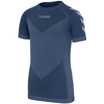 Hummel KurzarmblusenFIRST SEAMLESS JERSEY S/S WO - 202644 blau