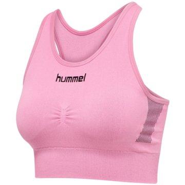 Hummel Sport-BHsFIRST SEAMLESS BRA WOMEN - 202647 rosa