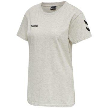 Hummel T-ShirtsGO Baumwolle T-SHIRT WOMAN S/S - 203440 weiß