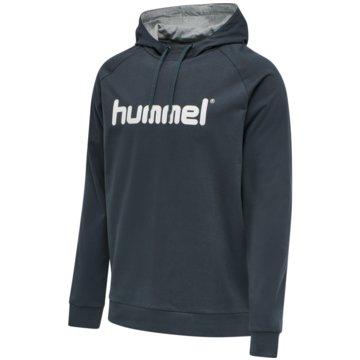 Hummel HoodiesHMLGO COTTON LOGO HOODIE - 203511 blau