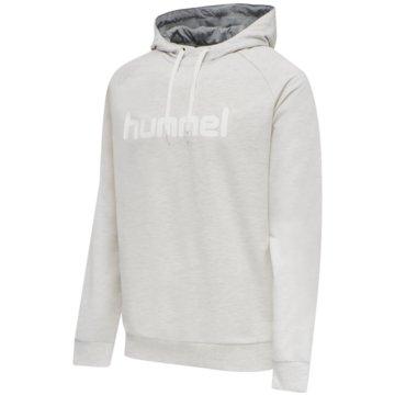 Hummel HoodiesHMLGO COTTON LOGO HOODIE - 203511 weiß