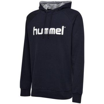 Hummel HoodiesHMLGO KIDS COTTON LOGO HOODIE - 203512 blau