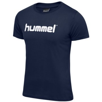 Hummel T-ShirtsHMLGO KIDS COTTON LOGO T-SHIRT S/S - 203514 blau