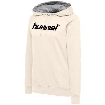 Hummel HoodiesHMLGO COTTON LOGO HOODIE WOMAN - 203517 weiß