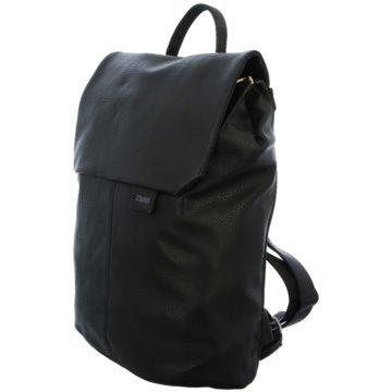 Zwei Taschen Damen schwarz