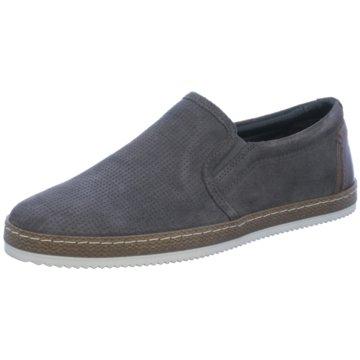 Vista Klassischer Slipper grau